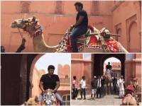 Puneeth Rajkumar Camel Riding In Rajasthan