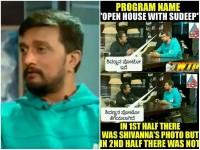 Journalist Jogi Gives Clarification About Sudeep Shiva Rajkumar Photo Controversy