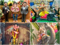 Ganesha Idols Inspired By The Popular Films Of