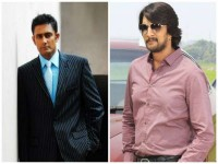 I Enjoyed Sudeep S Acting In Hebbuli Says Anil Kumble