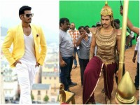 Nikhil Kumar S Abhimanyu Look In Kurukshetra Movie