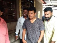 Hatrick Hero Shivarajkumar Visits Kadri Temple In Mangalore