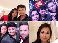 Ganesh And His Wife Shilpa Ganesh In Super Talk Time