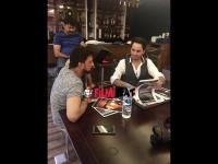 Hollywood Director Eddie Arya Meets Sudeep
