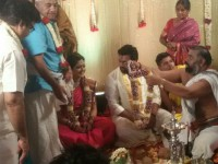 In Pics Chiranjeevi Sarja Got Engaged To Meghana Raj