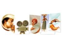 Google Doodle Pays Tribute To V Shantaram