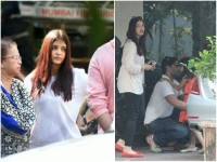 Aishwarya Rai Brought Food For The Residents Of The Apartment
