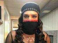 Upendra Dressed As A Lady In Home Minister