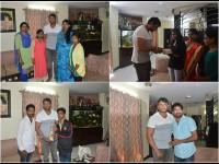 Kannada Actor Darshan Meets His Fans