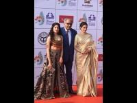 Sridevi And Daughter Janhvi Kapoor In Iffi