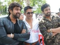 Arjun Sarja Cousin Pavan Theja To Make Sandalwood Debut