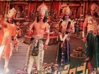 In Pic Ravichandran As Sri Krishna In Kurukshetra