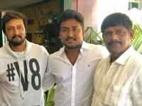 Suresh Meet Kannada Actor Kiccha Sudeep