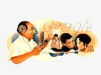 Google Celebrates Singing Legend Mohammed Rafi 93rd Birthday Doodle