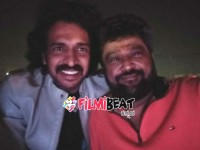 Jaggesh Has Taken His Twitter Accoun Tot Share His Photos With Upendra