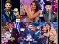Past Winners Of The Bigg Boss Hindi Reality Show