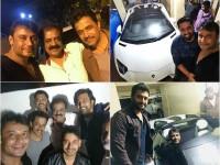 Kannada Actors Visit To Darshan Home