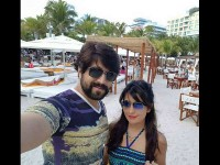 Radhika Pandith Wish To Her Husband Yash