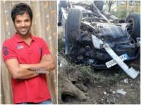 Kannada Actor Sathish Neenasam Injured While Car Accident