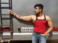 Ajay Rao Gets Tattooed Sumalathas Face On His Hand