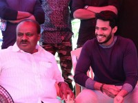 Kumaraswamy Has Visited The Film Location Of Seetha Rama Kalyana