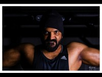 Neenasam Sathish Has Started Workout In The Gym For The Ayogya Film