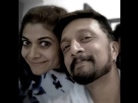 Valentines Day Special Sudeep Wife Priya Has Given A Gift To Sudeep