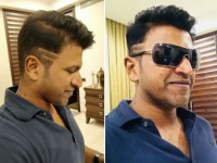 A Article Came In Telugu News Pepar About Puneeth Rajkumar New Hairstyle