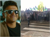 Puneeth Rajkumars Nata Sarvabhouma Kannada Movie Shooting Pic Out