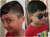 Ravishanker Son Follows The Villain Hair Style