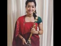 Rashmika Mandanna Saree History
