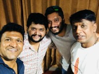 Puneeth Raj Kumar Sings A Song For Film Johnny Johnny Yes Pappa Movie