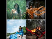Samyukta Hornad Has A New Type Of Photo Shoot For World Earth Month