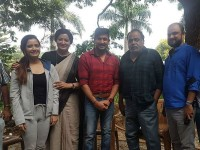Ambareesh Visits Thayige Thakka Maga Movie Set