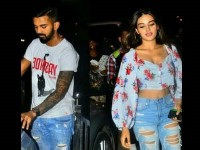 Nidhi Agerwal Spotted On A Dinner Date With Cricketer Kl Rahul