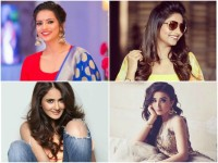 Kannada Actresses Are Wearing Half Sarees In Movies