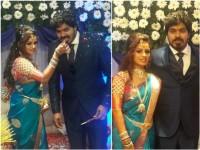 Rajahuli Movie Fame Actor Harsha Got Engaged With Aishwarya