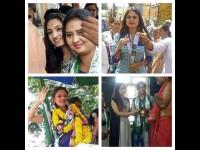 Vaishnavi Gowda Deepika Das And Ranjani Raghavan Join Election Campaign