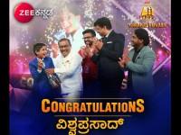 Vishwaprasad Ganagi Bags The Sarigamapa Season 14 Trophy