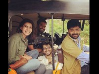 In Pic Samantha Busy Shooting For U Turn Remake