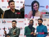 th South Filmfare Awards Sandalwood Stars Spoke About Filmfare Awards