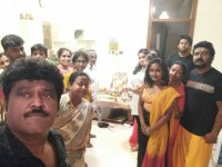 Kannada Actor Jaggesh Mother Nanjammas 25th Death Anniversary