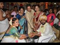Chiranjeevi Sarja And Meghana Rajs Wedding Show Are Telecast In Colors Kannada