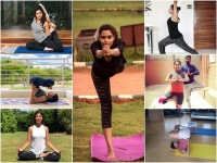 International Yoga Day Film Stars Yoga
