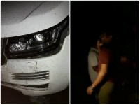 Puneeth Rajkumar S Car Met With An Accident At Ananthapur