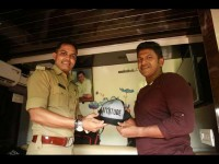 Puneet Rajkumar Yash Chikkaanna And Others Joined Bellary Police For Awareness Program