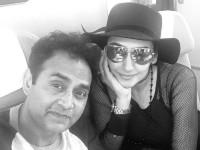 Sharan And Ragini Dwivedi Flys To America