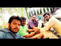 Vidvat Appears In Ananthu Vs Nusrat Shooting Set