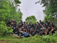 ne Maili Kannada Movie Team Went Trekking For Promotion