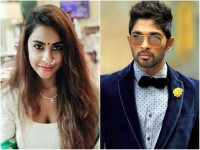 Sri Reddy Targets Allu Arjun Brother